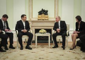 Πούτιν προς Τσίπρα: «Σας υποδέχομαι στη Μόσχα με ευχαρίστηση ξανά» - Κεντρική Εικόνα