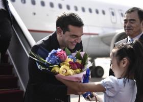 Τσίπρας: Η Ελλάδα γίνεται πύλη της Κίνας στην  Ευρώπη - Κεντρική Εικόνα