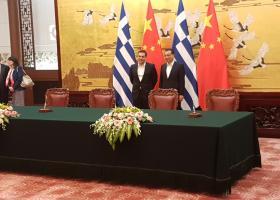 Σε πολύ φιλικό κλίμα η συνάντηση του Αλ. Τσίπρα με τον Κινέζο ομόλογό του Λι Κετσιάνγκ - Κεντρική Εικόνα