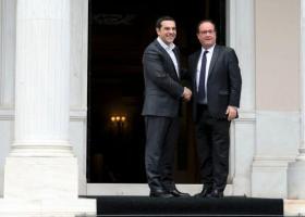 Τσίπρας προς Ολάντ: Σταθήκατε φίλος της Ελλάδας στα δύσκολα - Κεντρική Εικόνα