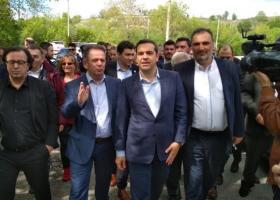 Τους αγροτικούς συνεταιρισμούς του Βελβεντού επισκέφθηκε ο Αλέξης Τσίπρας - Κεντρική Εικόνα