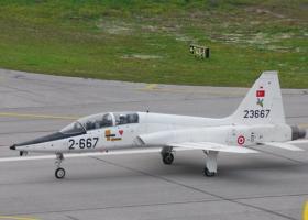 Tουρκικό εκπαιδευτικό αεροσκάφος πέταξε πάνω από την νησίδα Παναγιά - Κεντρική Εικόνα