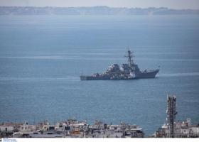 Στη Θεσσαλονίκη το επιβλητικό αμερικανικό αντιτορπιλικό USS MCFAUL (photos) - Κεντρική Εικόνα
