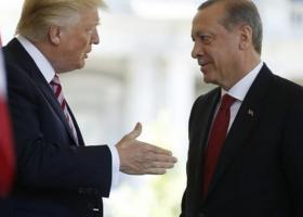 Τηλεφωνική επικοινωνία Τραμπ-Ερντογάν για την δημιουργία «ζώνης ασφαλείας» στην Συρία - Κεντρική Εικόνα