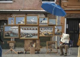 Πάγκο στη Βενετία έστησε ο Banksy - Κεντρική Εικόνα