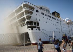 Σε ναυπηγείο στο Πέραμα οι εργασίες επισκευής του «Ελ. Βενιζέλος» - Κεντρική Εικόνα