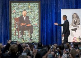 Viral τα πορτρέτα του Μπαράκ και της Μισέλ - Κεντρική Εικόνα