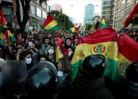 Βολιβία: Κλιμακώνονται οι διαδηλώσεις κατά της «μεταβατικής» προέδρου - Κεντρική Εικόνα