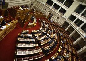Πρεμιέρα της συζήτησης του Προϋπολογισμού του 2019 στη Βουλή - Κεντρική Εικόνα