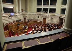 Τοποθετήσεις βουλευτών στη συζήτηση επί του Προϋπολογισμού στη Βουλή - Κεντρική Εικόνα