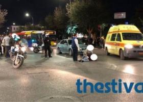 Αυτοκίνητο παρέσυρε καρότσι με βρέφος στη Θεσσαλονίκη - Κεντρική Εικόνα