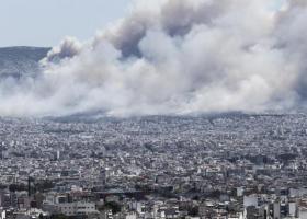 Σε ύφεση η φωτιά στον Υμηττό - Πύρινο μέτωπο και στα Τουρκοβούνια - Κεντρική Εικόνα