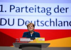 Σε κλίμα συγκίνησης η τελευταία ομιλία της Μέρκελ ως πρόεδρος της CDU (vid) - Κεντρική Εικόνα
