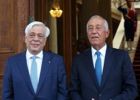 Στην Αθήνα ο Πρόεδρος της Πορτογαλίας - Κεντρική Εικόνα