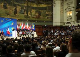 Το όραμα του Μακρόν για την Ευρώπη - Κεντρική Εικόνα