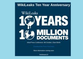 To Wikileaks γιορτάζει τα δέκα χρόνια λειτουργίας - Κεντρική Εικόνα