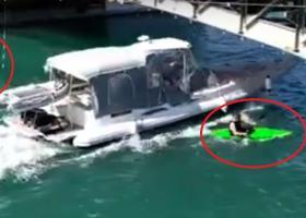 Γέφυρα Ευρίπου: Ασυνείδητος χειριστής ταχύπλοου παραλίγο να «θερίσει» αθλητές του κανόε καγιάκ (Video) - Κεντρική Εικόνα