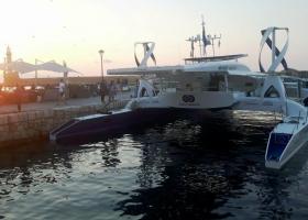 Σκάφος-τεχνολογικό επίτευγμα έδεσε στο Παλιό Λιμάνι των Χανίων (photos) - Κεντρική Εικόνα