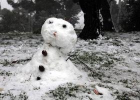 Τρελάθηκε ο καιρός: Χιονίζει στο Καρπενήσι (Video) - Κεντρική Εικόνα