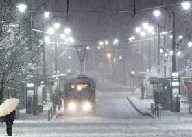 Έκτακτο δελτίο ΕΜΥ: Πυκνές χιονοπτώσεις έως και σε 200μ. υψόμετρο - Κεντρική Εικόνα