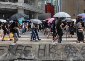 Χονγκ Κονγκ: Οι διαδηλωτές ζητούν από το Λονδίνο να κάνει περισσότερα για να τους προστατεύσει - Κεντρική Εικόνα