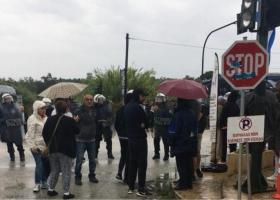 Έκρυθμη η κατάσταση έξω από τον ΧΥΤΑ Λευκίμης στην Κέρκυρα - Κεντρική Εικόνα