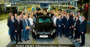 Επένδυση 1 δισ. € από την Mercedes (όχι στην Ελλάδα) στην Ουγγαρία - Κεντρική Εικόνα