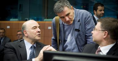 Eurogroup: «Ναι» στην εκταμίευση, πρόβλημα το χρέος - Κεντρική Εικόνα