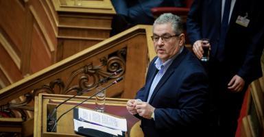 Κουτσούμπας: Οι προτάσεις ΣΥΡΙΖΑ-ΝΔ για τη Συνταγματική Αναθεώρηση συμπίπτουν - Κεντρική Εικόνα