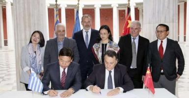 Συμφωνία συνεργασίας Greenesco Ενεργειακής και CETC - Κεντρική Εικόνα
