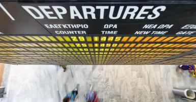 Handelsblatt: Χάος στις διακοπές στην Ελλάδα - Κεντρική Εικόνα