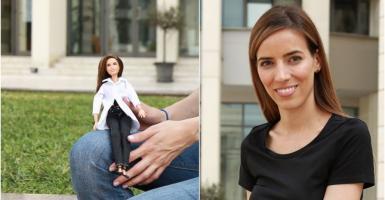 Η Ελένη Αντωνιάδου της ΝΑSA γίνεται η πρώτη Ελληνίδα κούκλα Barbie - Κεντρική Εικόνα