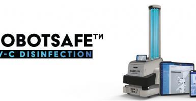 Η Gizelis Robotics παρουσιάζει το καινοτόμο μικροβιοκτόνο ρομπότ ROBOTSAFE™ UV-C με τεχνολογία υπεριώδους ακτινοβολίας - Κεντρική Εικόνα