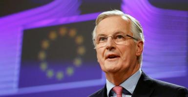 Ο Μπαρνιέ καλεί τους Ευρωπαίους να προετοιμαστούν για ένα Brexit χωρίς συμφωνία - Κεντρική Εικόνα