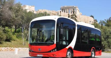 Δείτε το πρώτο 100% ηλεκτρικό λεωφορείο που θα κυκλοφορήσει στην Αθήνα (photos+video) - Κεντρική Εικόνα