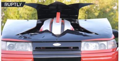 Ένα ρωσικό αυτοκίνητο εμπνευσμένο από τους... Transformers (video) - Κεντρική Εικόνα