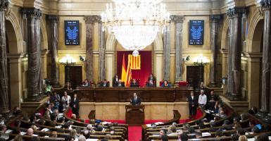 Την Πέμπτη η συνεδρίαση του καταλανικού Κοινοβουλίου - Κεντρική Εικόνα