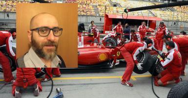 Ο Έλληνας που άφησε το... μίνι μπάσκετ, για να προπονεί τα pits της Ferrari! (photos+video)  - Κεντρική Εικόνα