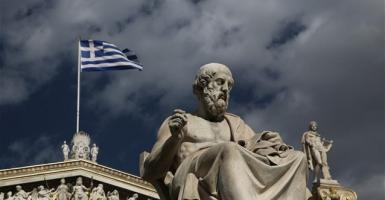 FAZ: Πώς η Ελλάδα έσωσε το ευρώ - Κεντρική Εικόνα
