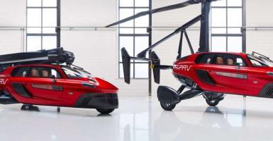 Το πρώτο ιπτάμενο αυτοκίνητο είναι διαθέσιμο και στοιχίζει 499.000 ευρώ - Κεντρική Εικόνα