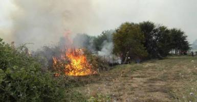 Σε ύφεση η φωτιά στην Πούντα Αιγιαλείας - Νέο μέτωπο στα «Μάρμαρα» της Αιγείρας - Κεντρική Εικόνα