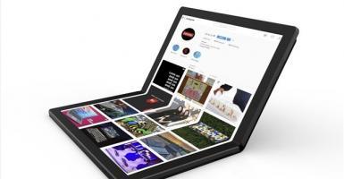 H Lenovo παρουσιάζει ένα laptop με αναδιπλούμενη οθόνη (photo) - Κεντρική Εικόνα