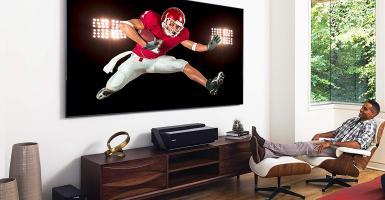 Ο κινεζικός κολοσσός Hisense προωθεί μοντέλο TV λέιζερ υψηλής ευκρίνειας 100 ιντσών στο Ντουμπάι - Κεντρική Εικόνα