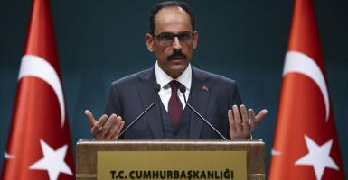 Εκπρόσωπος Ερντογάν: Υπερβολική η αντίδραση της Ελλάδας - Έτοιμοι για διάλογο - Κεντρική Εικόνα