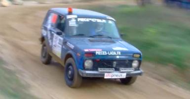 To Lada Niva «τα σπάει» και στο Ράλι! (video) - Κεντρική Εικόνα