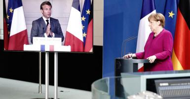 Μέρκελ-Μακρόν προτείνουν Ταμείο Ανάκαμψης €500 δισ. για στήριξη χωρών και κλάδων που έχουν πληγεί σοβαρά λόγω κορωνοϊού - Κεντρική Εικόνα