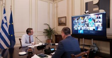 Μητσοτάκης στο υπουργικό: Έτοιμοι για πρόσθετες παρεμβάσεις για τη στήριξη του κόσμου της εργασίας - Κεντρική Εικόνα
