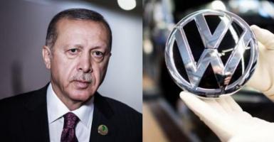 O Ερντογάν δίνει γη και ύδωρ για την κατασκευή εργοστασίου της VW στην Τουρκία - Κεντρική Εικόνα
