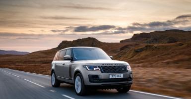 Range Rover με τον Ingenium κινητήρα των 400 ίππων - Κεντρική Εικόνα