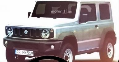 Πρώτες εικόνες του νέου Suzuki Jimny (photo) - Κεντρική Εικόνα